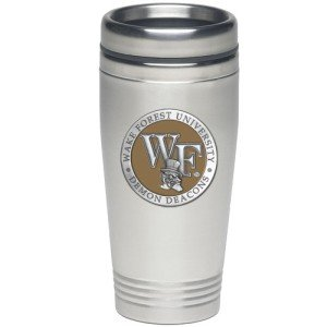 Buy Wake Forest Demon Deacons Thermal Mug by Heritage Pewter