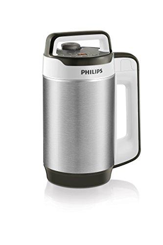 Philips HR2202/80 Blender Chauffant Smoothies Gaspachos Compotes Soup Maker Double Paroi Isolante 990 W 1,2 L