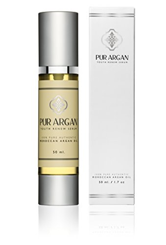Argan Oil, 100% Pure Essential Oil, Anti-Aging, Anti-Wrinkle Facial Emollient Day and Night Serum, Exquisite Luxury For Your Face, 1.7 fl oz, By Pur Argan (Pur Nail compare prices)