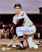 Signed Colavito, Rocky (Cleveland Indians) 8x10 Photo (JSA Authenticated) autographed