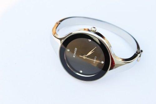 KIMIO Ledhill KIMIO Elegent fashion round face lady's women's bracelet bangle wrist quartz watch