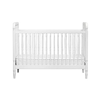 Million Dollar Baby Classic Liberty 3-In-1 Convertible Crib With Toddler Bed Conversion Kit, White