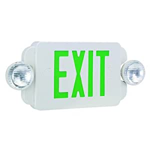 royal pacific rxel19gw exit sign emergency light combo. Black Bedroom Furniture Sets. Home Design Ideas