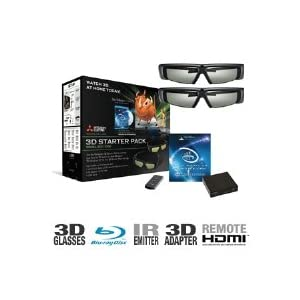 Mitsubishi 3DC-1000 3D HDTV Starter Pack