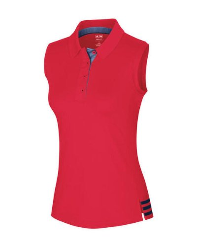 Adidas ClimaCool Ladies Golf sleeveless 3-stripes