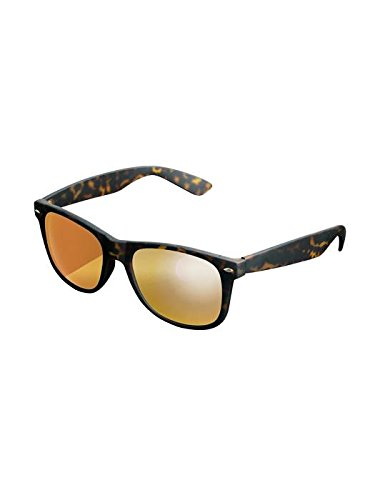 Masterdis Mstrds Shades Likoma Mirror Sunglasses UV400 Occhiali da Sole Specchiati Colore amber/orange