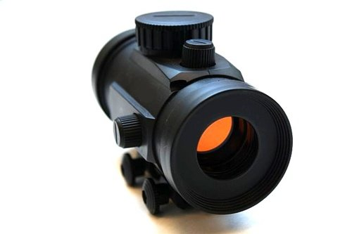 Double Eagle GS11 Airsoft Electronic Red Cross Scope Airsoft Gun Accessory