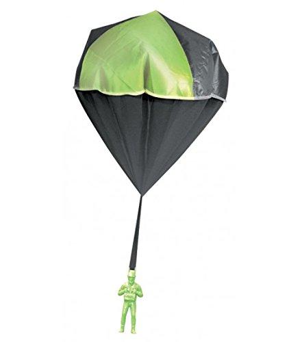 Aeromax 2000 Glow Parachute Green (Glow In The Dark Toy Parachute)