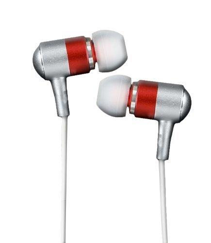 Subjekt Herphones Petite Earbuds With Mic For Women (Red)