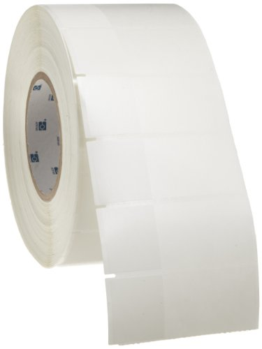 """Brady Tht-134-461-3 3.5"""" Width X 1.5"""" Height, B-461 Self-Laminating Polyester, Matte Finish White/Translucent Thermal Transfer Printable Label (3000 Per Roll)"""