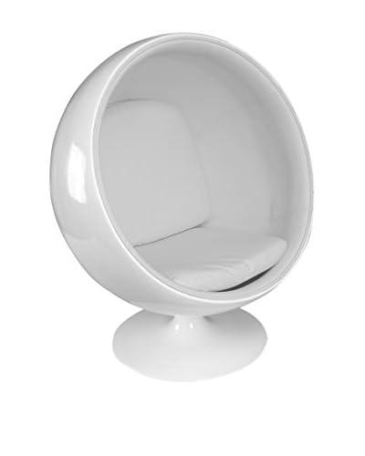 Sillón Ball Blanco / Blanco