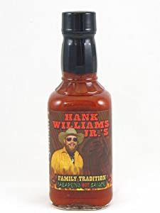Hank Williams Jrs Family Tradition Jalapeno Hot Sauce