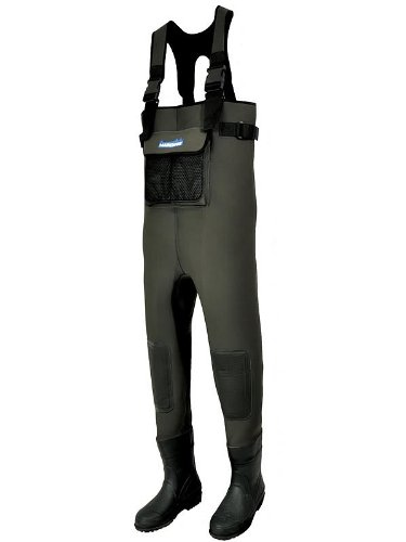 Hardwear Fishing Waders Neoprene Chest - Black, Size 8/9