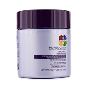 Pureology Hydrate Hydra Cure Intense Moisture Hair Masque, 5.2 Ounce