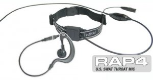 U.S. Swat Throat Mic - Paintball Equipment