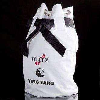 Blitz Sport Ying Yang White Duffle Bag
