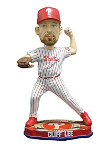 MLB Philadelphia Phillies Forever Collectibles Baseball Base Bobblehead Cliff Lee