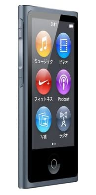Apple iPod nano 16GB スレート MD481J/A <第7世代>