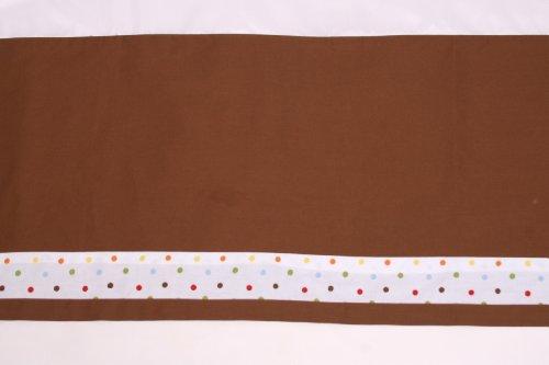 Imagen de Bacati - Baby & Me Multicolor 9 Cuna Pc Set W / o parachoques