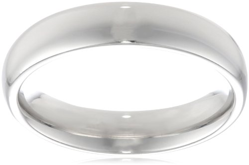 Platinum Comfort-Fit Plain Wedding Band (4 mm)