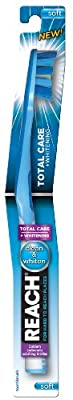 Reach Total Care Plus Whitening Toothbrush, Soft (Colors May Vary)