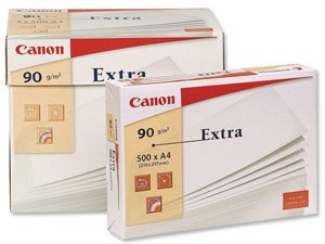 Canon Extra Multifunctional Paper Ream-Wrapped 90gsm A4 White Ref 76418 [500 Sheets]
