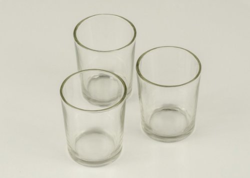 72 Clear Glass Votive Holders