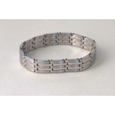 Ident Men's Expansion Square Links Chain Bracelet