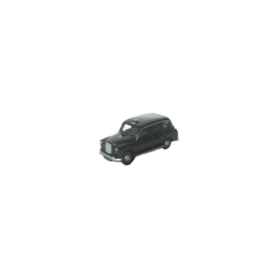 fx4 black taxi car 1.76 railway scale diecast model