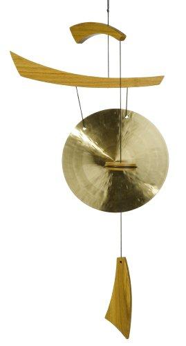 Woodstock Emperor Medium Gong, Natural Wood