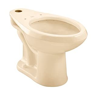 American Standard 3043.102.021 Madera 17-Inch High 10-Inch Rough-In Elongated Flush Valve Toilet, Bone (Bowl Only)