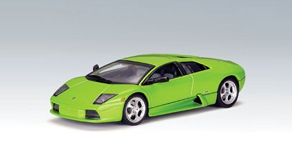 Kinsmart Lamborghini Murcielago LP 640 1/36 Scale in Lime Green