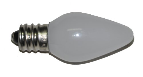 Cool White Frosted C7 Led Replacement Bulb