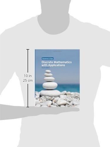 Discrete mathematics with applications 4th edition