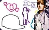 "Justin Bieber Silly Bandz 24-pack + Free ""Forever Necklace"" to Wear Your Justin Bieber Bandz On!!!"