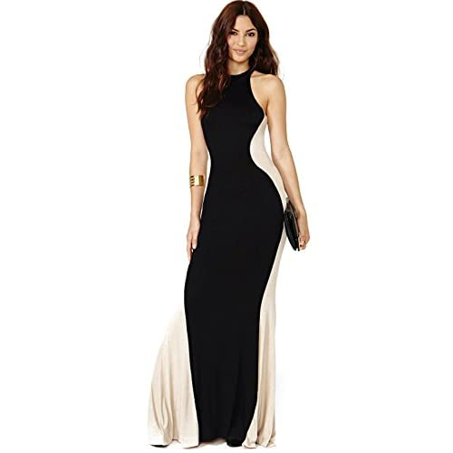 Anni Coco Women's Slim Evening Maxi Dresses   Sleeveless Long Dresses