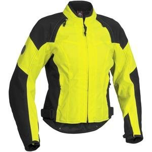 Firstgear Women's Contour Textile Jacket - Medium/Black