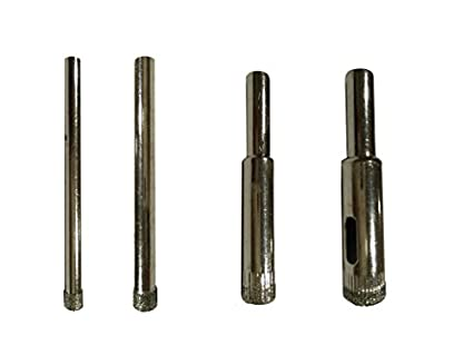 Excel Impex CGDS02 Glass Drill Bit Set (5,6,8,10mm)