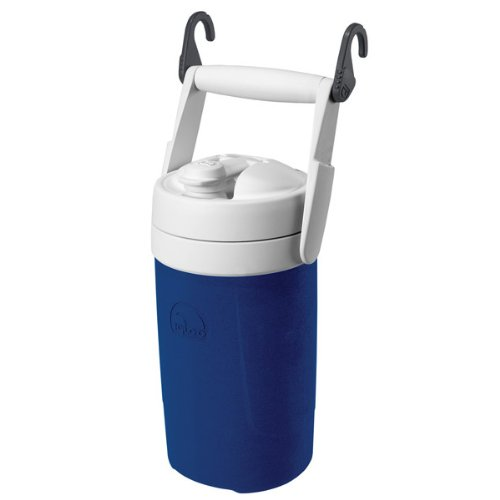 Igloo Sport Beverage Cooler With Chain Links (Majestic Blue, 1/2-Gallon) front-203929