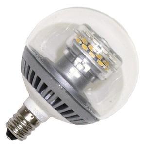 tcp ldcg163wh27k dimmable 3 watt g16 5 led globe light bulb candelabra bas. Black Bedroom Furniture Sets. Home Design Ideas