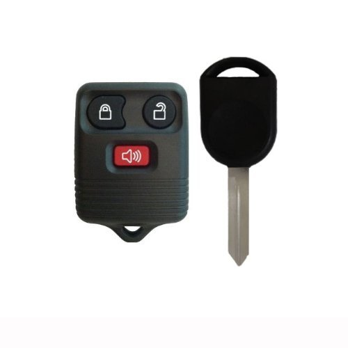 1998-2011 Ford F150 F250 F350 Keyless Entry Remote and Ignition Key w/ Free DIY Programming Instructions (Must have 2 working keys to program key yourself)