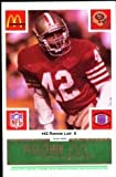 img - for San Francisco 49ers McDonald's 1986 Football Cards (Green Tab) 154 Cards book / textbook / text book