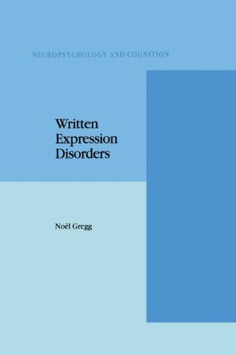 Written Expression Disorders (Neuropsychology and Cognition)