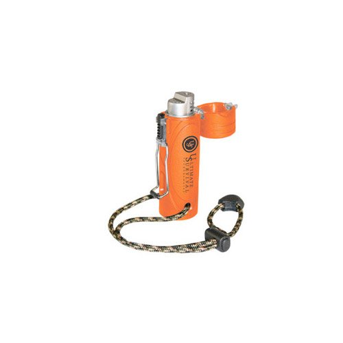 UST Trekker Stormproof Lighter, Blaze Orange