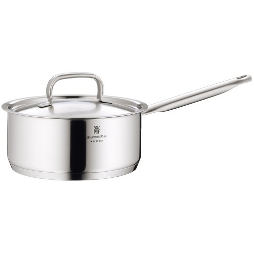 WMF Gourmet Plus 20cm Stainless Steel Saucepan with Lid, 2.5 Litres