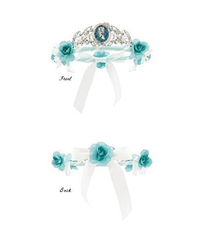 Elsa Flower Crown Tiara