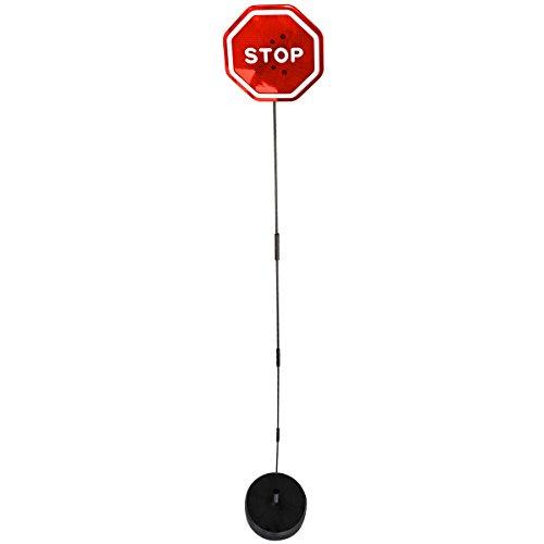Evelots Flashing Led Auto Parking Signal - Mini Sensor Stop Sign