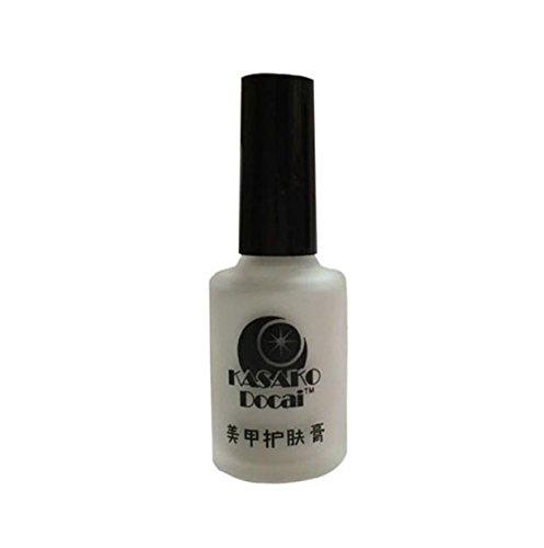 Vovotrade Peel Off Liquid Tape Latex Tape Peel Off Base Coat Nail Art Liquid Palisade (White) (Samsung Vacuum Tube compare prices)