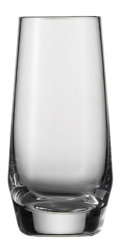 Schott Zwiesel Tritan Crystal Glass Pure Barware Collection Shot Cocktail Glass, 3.2-Ounce, Set of 6 (Small Shot Glasses With Stem compare prices)