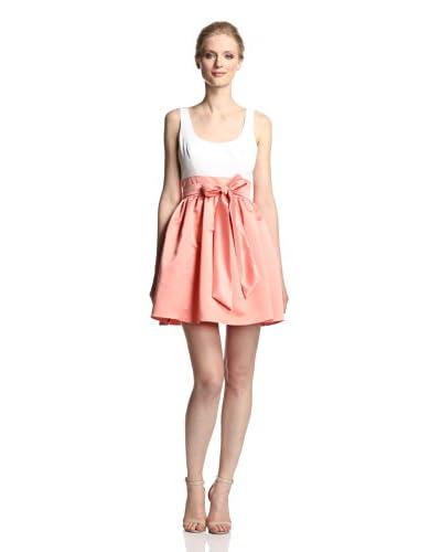 Aidan Mattox Women's Two-Tone Satin Dress